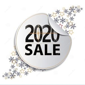 Upcoming sales before 2020 end💕❤️☺️